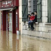 Frankreich versinkt im Hochwasser - mindestens 11 Tote! (Foto)