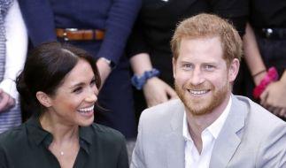 Prinz Harry und Herzogin Meghan verkündeten, dass sie ein Baby erwarten. (Foto)