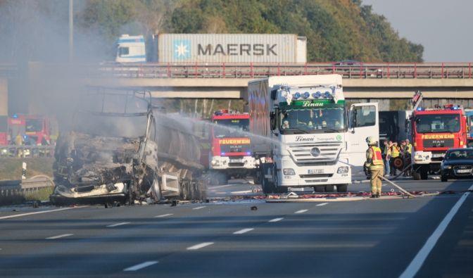Tödlicher Unfall auf der A2 bei Hannover