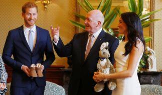 Mit der Nachricht vom Nachwuchs versetzen Herzogin Meghan und Prinz Harry die Australier in Entzücken. (Foto)