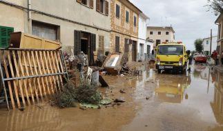 Bei schweren Unwettern auch Mallorca kamen mindestens 13 Menschen ums Leben. (Foto)
