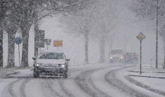 Nächste Woche könnte der erste Schnee fallen. (Foto)