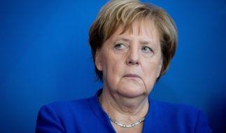 Kanzlerin Angela Merkel dürften die aktuellen Umfragewerte kaum ein Lächeln aufs Gesicht zaubern. (Foto)