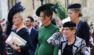 Vom stolzen Babybauch von Pippa Middleton ist aktuell nichts mehr zu sehen. (Foto)