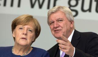 Die CDU muss bei der kommenden Hessenwahl mit herben Verlusten rechnen. (Foto)