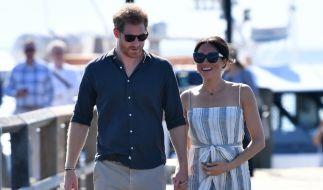 Prinz Harry und Meghan Markle sind aktuell in Australien unterwegs. (Foto)