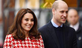Die stolzen Eltern: Kate Middleton und Prinz William. (Foto)