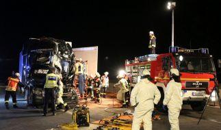 Auf der A3 kam es zu einem schweren Unfall. (Foto)