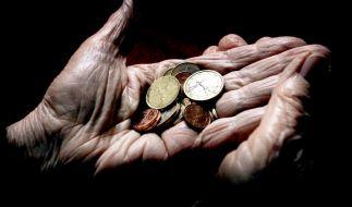 Immer mehr Renter sind von Altersarmut betroffen oder bedroht. (Foto)
