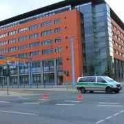 Gebäudekomplex in Innenstadt nach Bombenalarm evakuiert (Foto)