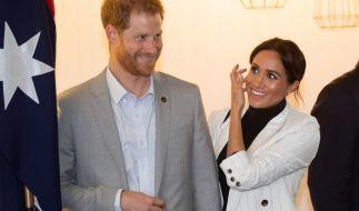 Prinz Harry und Meghan Markle reisen aktuell durch Australien. (Foto)