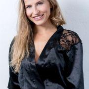 Model Sabina aus Berlin war schon mal bei der Milano Fashion Week dabei.