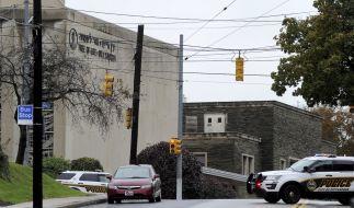 An einer Synagoge in Pittsburgh sind Schüsse gefallen, die Rede ist von mindestens vier Toten. (Foto)