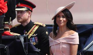 Für Prinz Harry und Meghan Markle heißt es demnächst Abschied nehmen. (Foto)