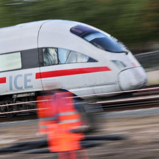 ICE-Strecke bei Nürnberg manipuliert - Drohschreiben gefunden (Foto)