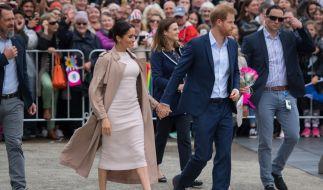 Prinz Harry und seine Frau Meghan besuchen zurzeit Neuseeland. (Foto)