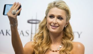 Paris Hilton feiert den National Cat Day. (Foto)
