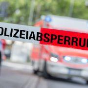 Junger Mann von Glasplatten erschlagen (Foto)