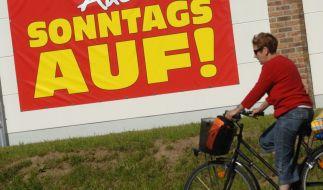 In vielen Bundesländern haben die Geschäfte auch am Sonntag geöffnet. (Foto)