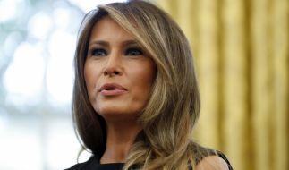 Melania Trump sorgt mit einer mysteriösen Reiserechnung über knapp 100.000 US-Dollar für Furore. (Foto)