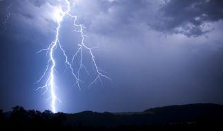 In Italien wurde eine Deutsche von einem Blitz getötet. (Foto)