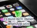5 Messenger-Alternativen zu WhatsApp