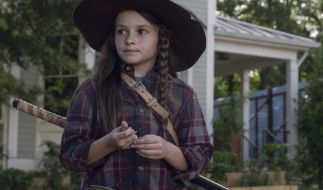 Cailey Fleming spielt Judith Grimes. (Foto)