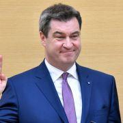Söder erneut zum bayerischen Ministerpräsidenten gewählt (Foto)
