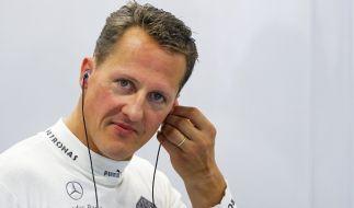 Michael Schumacher gab kurz vor seinem Skiunfall Ende 2013 ein bewegendes Interview. (Foto)