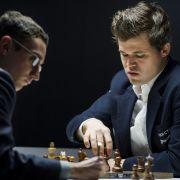 Schach-Duell in 7. Runde am Sonntag live aus London sehen (Foto)