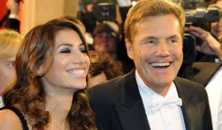 Die Gerüchte wollen nicht verstummen, dass Dieter Bohlen und seine Freundin Carina Walz längst verheiratet sein könnten. (Foto)