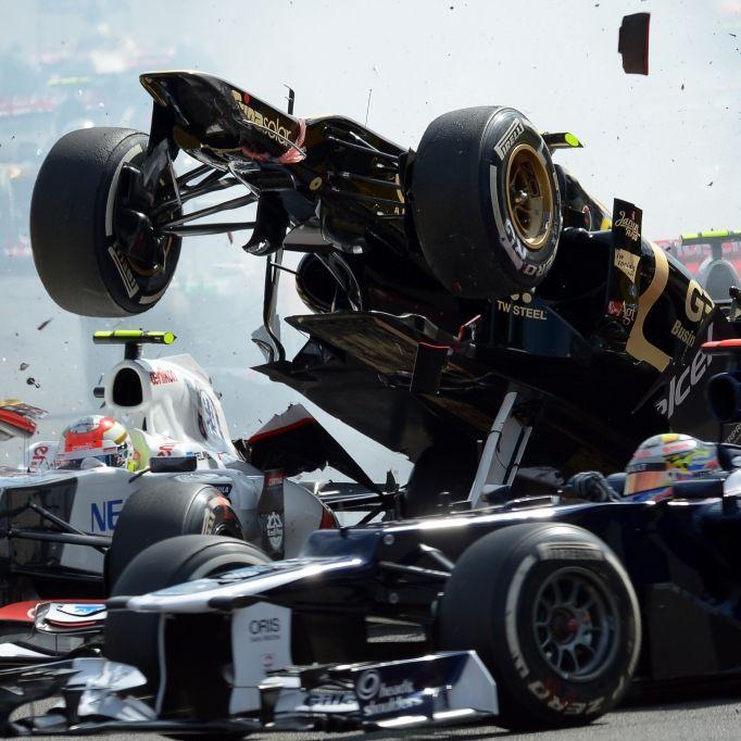 Das sind die heftigsten Unfälle der Formel-1-Geschichte (Foto)