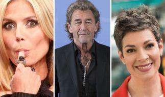 Heidi Klum, Peter Maffay und Cheryl Shepard (v.l.n.r.) waren nur drei Promis, die diese Woche für überraschende Nachrichten sorgten. (Foto)