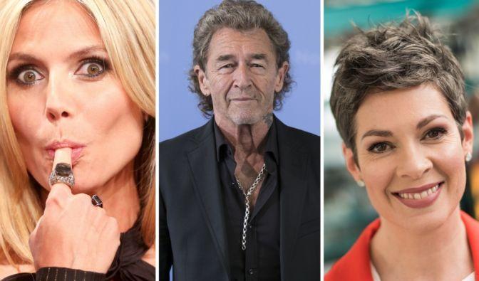 Peter Maffay, Heidi Klum, Cheryl Shepard