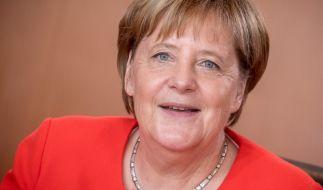 Bundeskanzlerin Angela Merkel. (Foto)