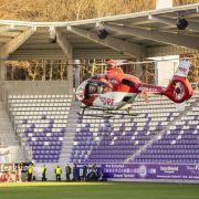 HSV-Fan nach Tribünen-Sturz aus Krankenhaus entlassen (Foto)