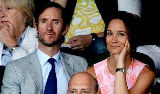 James Matthews und Pippa Middleton haben offenbar den Namen ihres Babys verraten. (Foto)