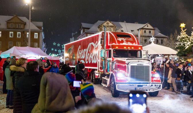 Coca-Cola-Trucks on Tour2018