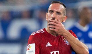 Gingen mit Franck Ribéry nach dem Bundesliga-Spiel Borussia Dortmund - FC Bayern München die Pferde durch? (Foto)