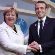 Bundeskanzlerin Angela Merkel ist mit Brigitte Macron, der Ehefrau von Frankreichs Präsident Emmanuel Macron, verwechsel worden. (Foto)