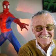 Stan Lee, US-amerikanischer Comicautor (28.12.1922 - 12.11.2018)
