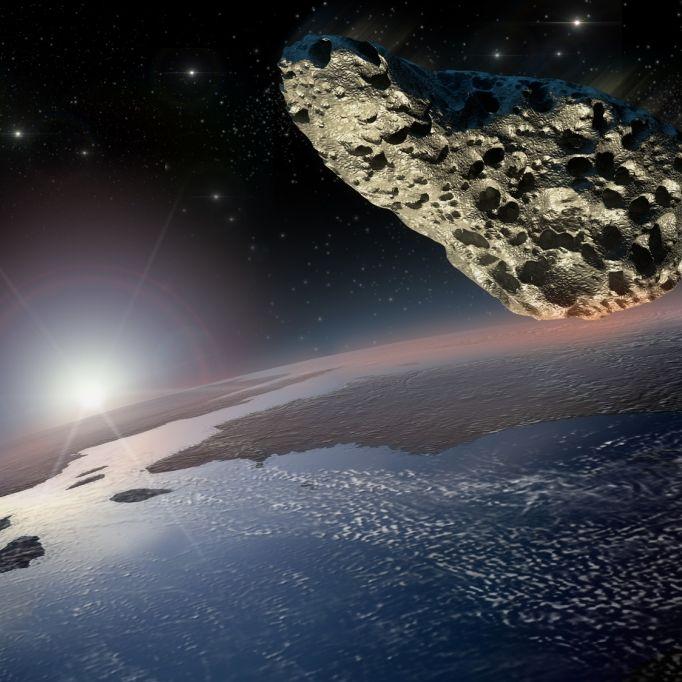 HIER schrammte ein Asteroid knapp an der Erde vorbei (Foto)
