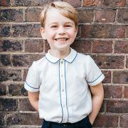 Mit seinem Lausbubenlächeln stiehlt der kleine Prinz George seinen Eltern Prinz William und Herzogin Kate regelmäßig die Show.