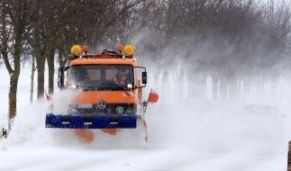 Einigen teilen Deutschlands drohen zehn Zentimeter Schnee. (Foto)