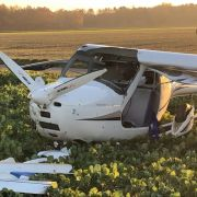 Flugzeuge in Luft kollidiert - Pilot tot! (Foto)