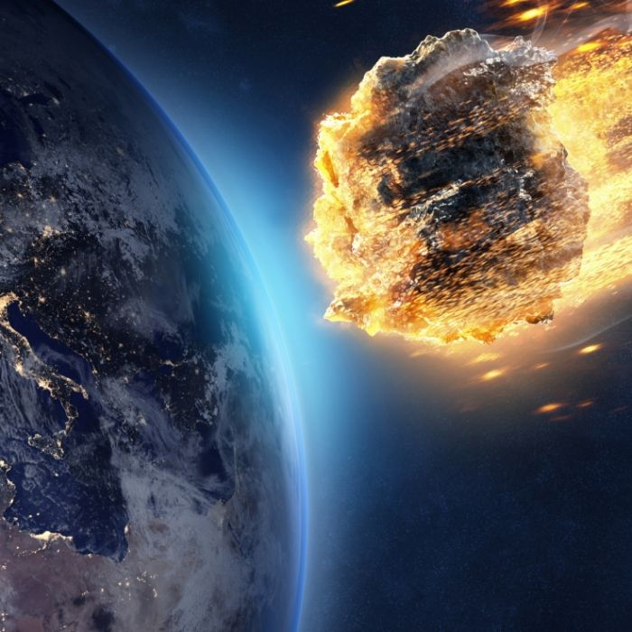 Apokalypse im Anflug! Gigantischer Asteroid rast auf die Erde zu (Foto)
