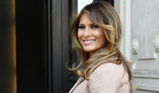 First Lady Melania Trump hat die diesjährige Weihnachtsdeko im Weißen Haus präsentiert. (Foto)