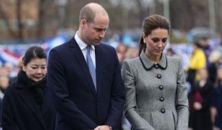 Ein bewegender Moment für Prinz William und Herzogin Kate. (Foto)