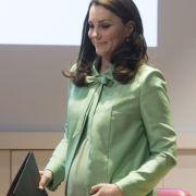Herzogin Kate mit Babywunsch! HIER plaudert sie über Baby Nr. 4 (Foto)