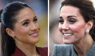 Meghan Markle und ihre Schwägerin Kate Middleton sorgten in der vergangenen Woche für einige royale Schlagzeilen. (Foto)